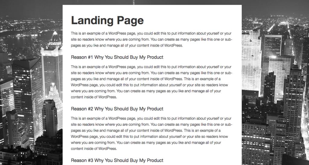 landing-page-metro-pro